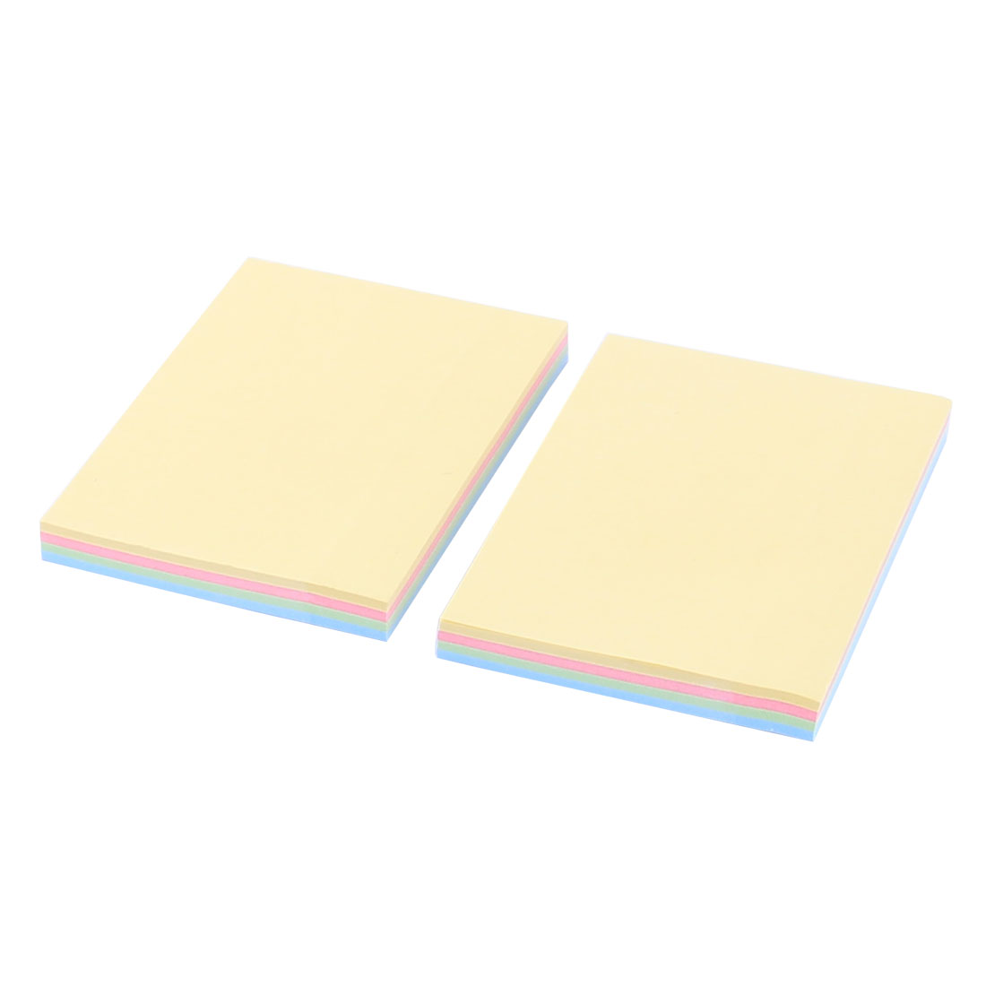 Office School Paper Square Reusable Adhesive Memo Marker Sticky Note Assorted Color 200 Sheets