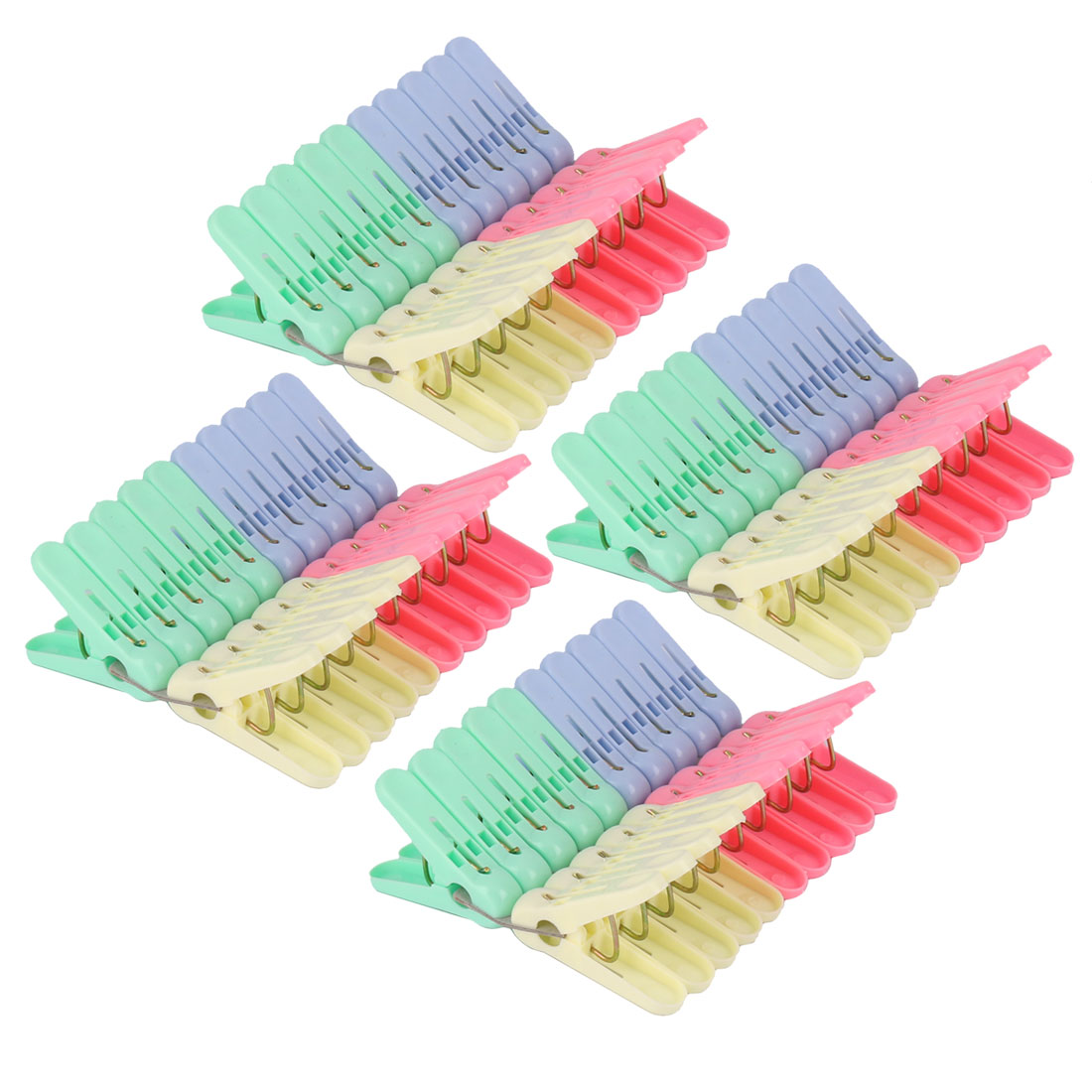 Household Laundry Socks Underwears Clothes Hanging Peg Clip Clothespins 80pcs