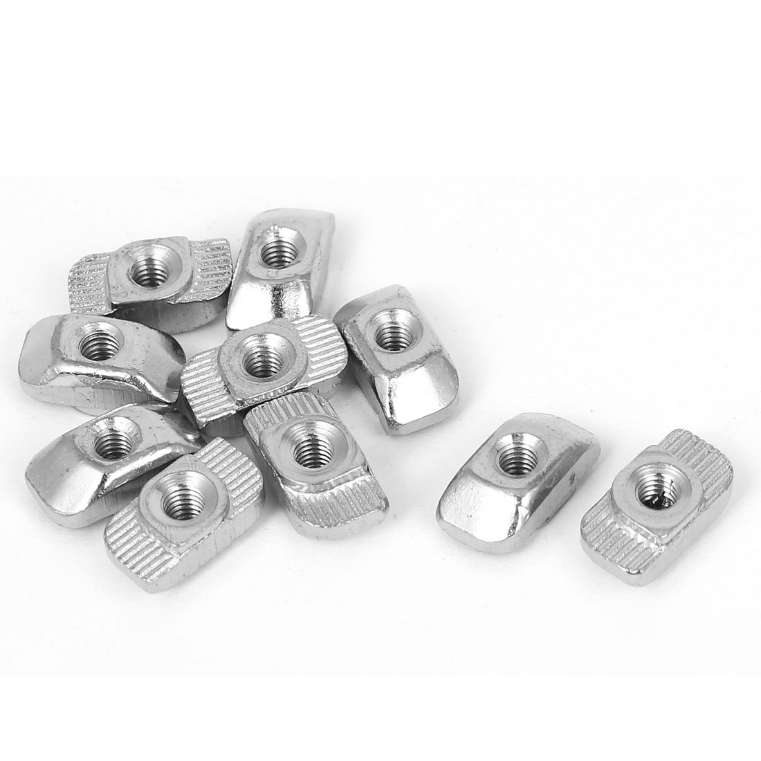 10pcs M4 Hammer Head T Slot Nuts Drop in T-Nuts for 30 Series Aluminum Profiles