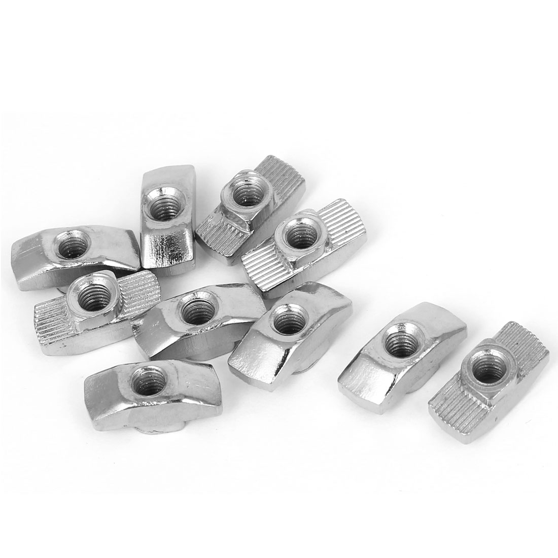 10 Pcs M5 Thread T-slot Drop In T-Nuts for 40 Series European Aluminum Extrusion
