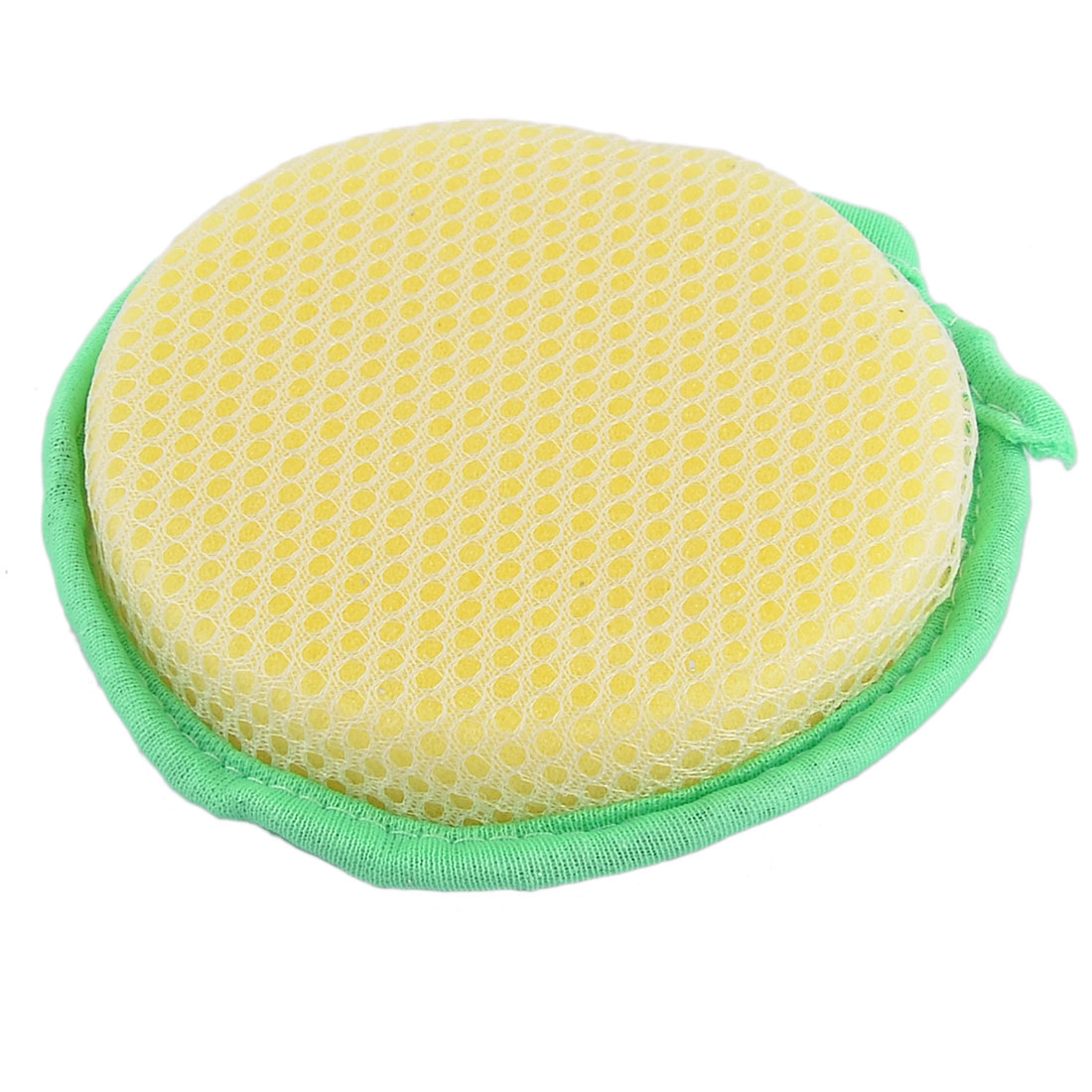 Metallic Thread Scrub Sponge Cleaning Pad Double Sides Dish Pot Cleaner Green