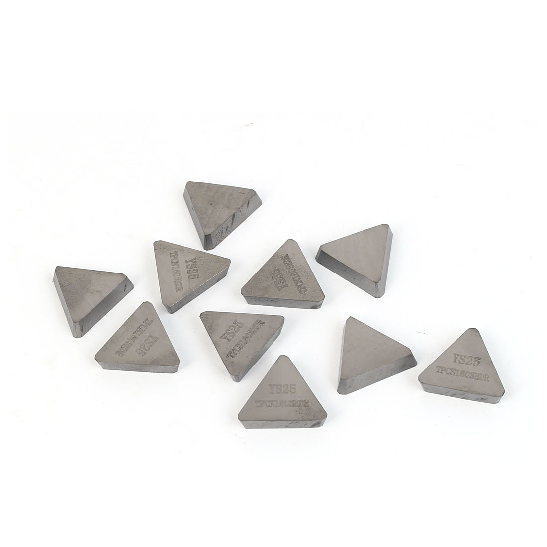 YS25 TPCN1603EDR Machine Lathe Milling Tool Triangle Gray Carbide Turning Insert