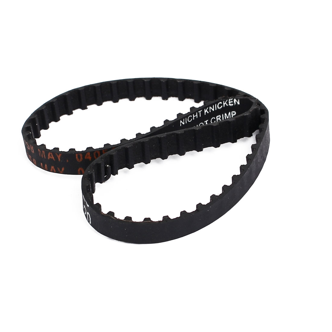 130XL Rubber Closed Loop Timing Belt Black 330mm Circumference 6mm Width 2pcs