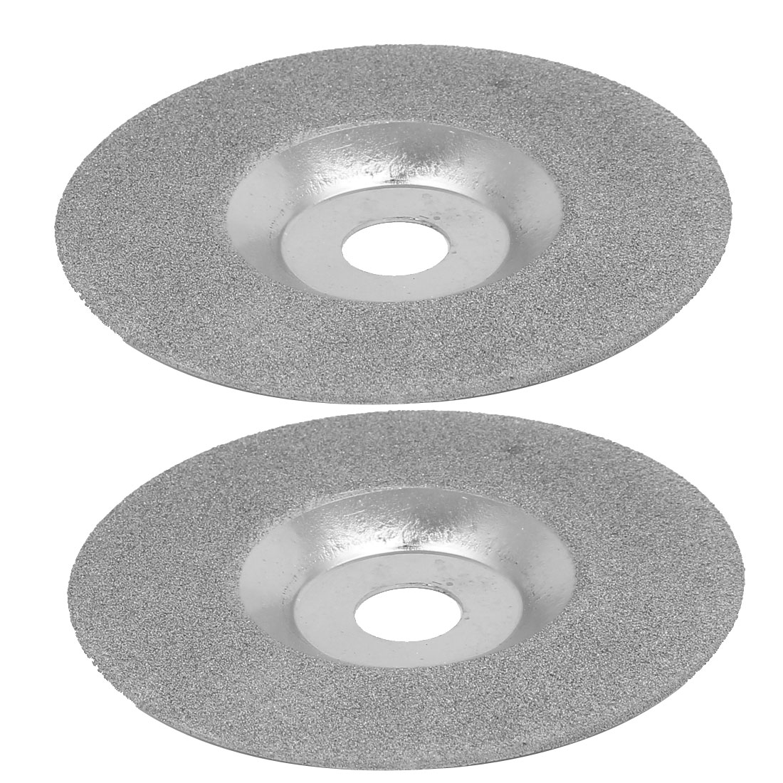 100mmx16mm Metal Diamond Coated Bowl-Shaped Grinding Cutting Discs Wheels 2pcs