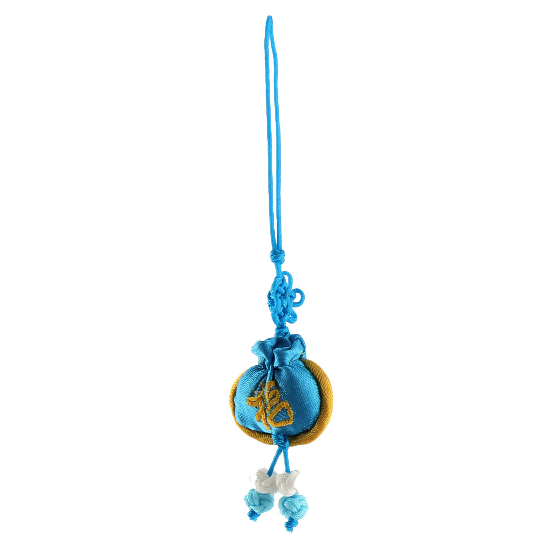 Household Mini Chinese Embroidery Luck Hanging Sachet Pendant Knot Sky Blue