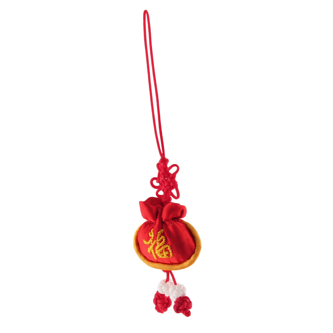 Household Mini Chinese Embroidery Luck Sachet Pendant Knot Hanging Decor Red