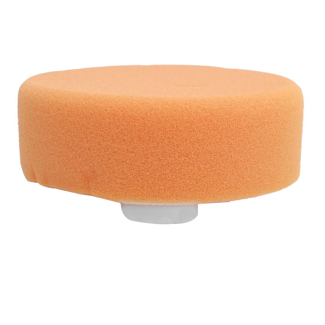"Car Sponge Polishing Ball Buffing Pad Polisher 5"" Dia Orange"