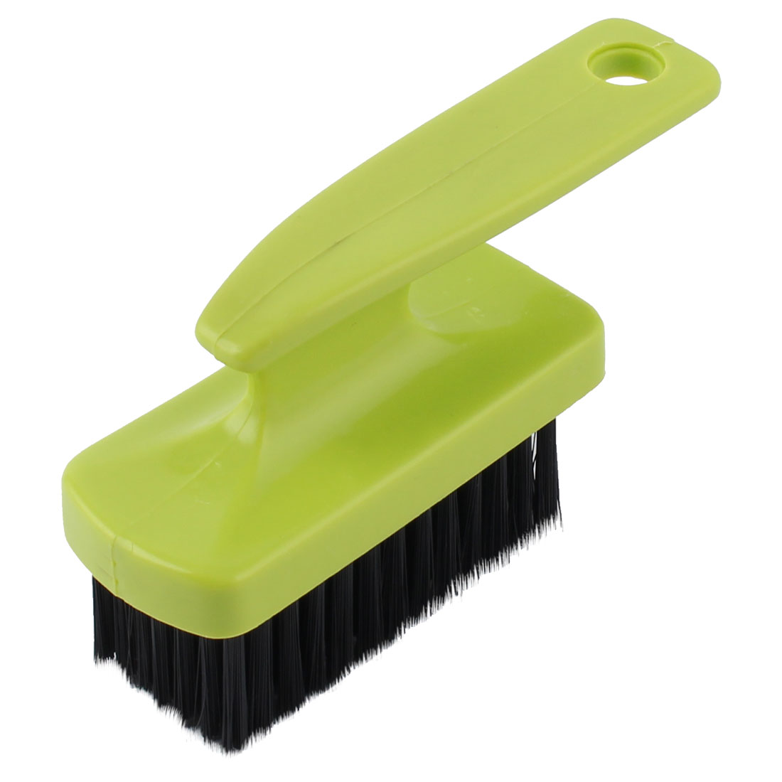 Home Laundry Plastic Handle Shoes Clothes Washing Cleaning Scrubbing Brush Green