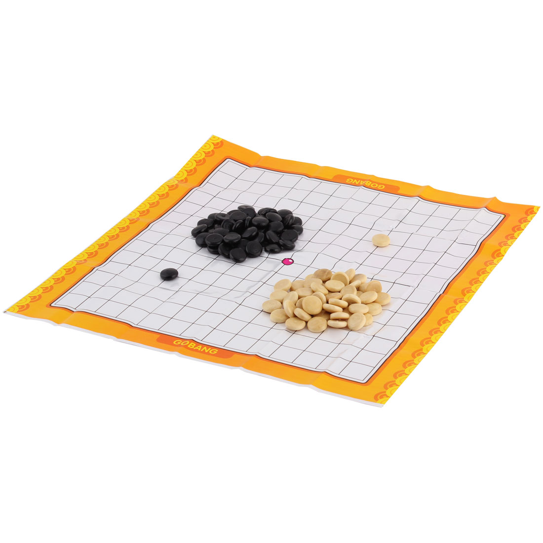 Wooden Intelligent Training Game Gomoku Chess Gobang Black Wood Color Set
