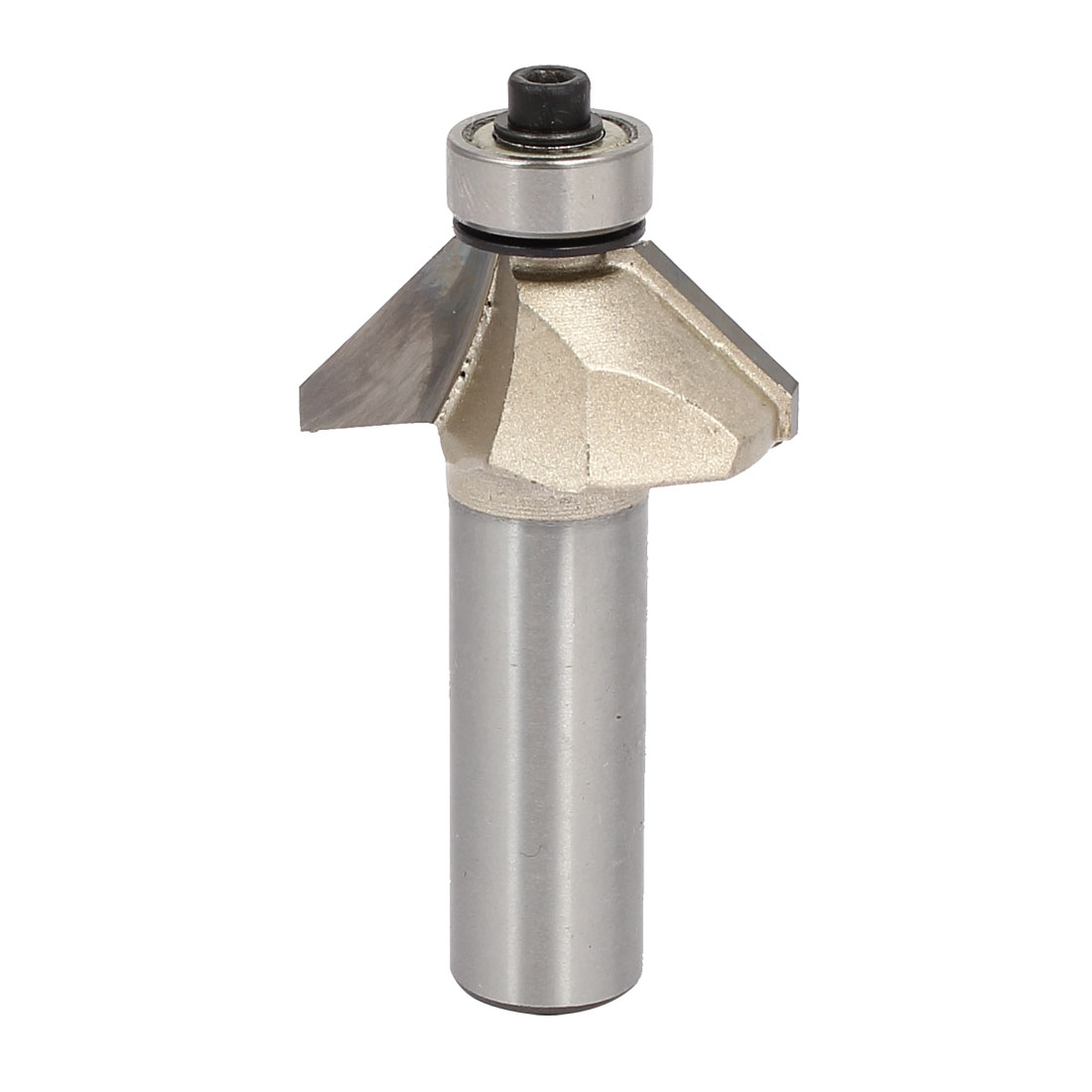 1/2-inch Shank 1/2-inch Cutting Length Ball Bearing 45 Degree Chamfer Router Bit