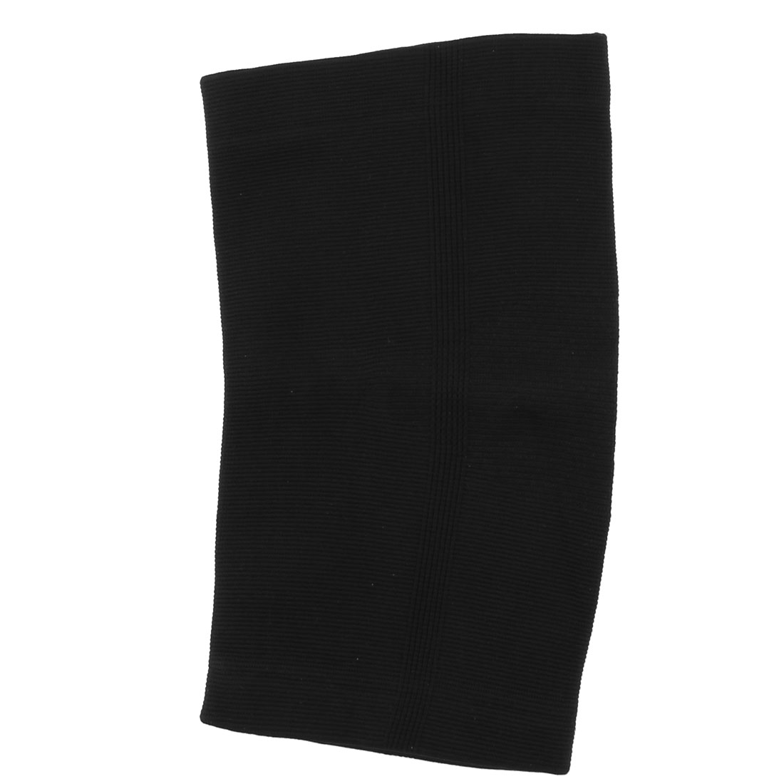 Outdoor Sport Spandex Stretch Leg Support Brace Pad Wrap Band Protector Black for Athlete