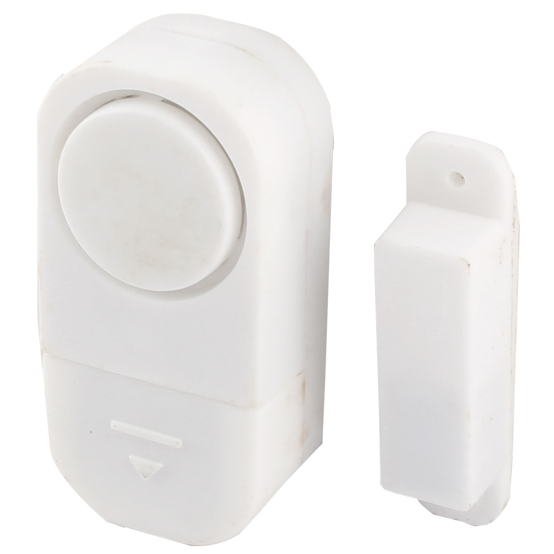 Home Door Plastic Shell Wall Mounted Motion Detector Burglar Wireless Security Alarm System White