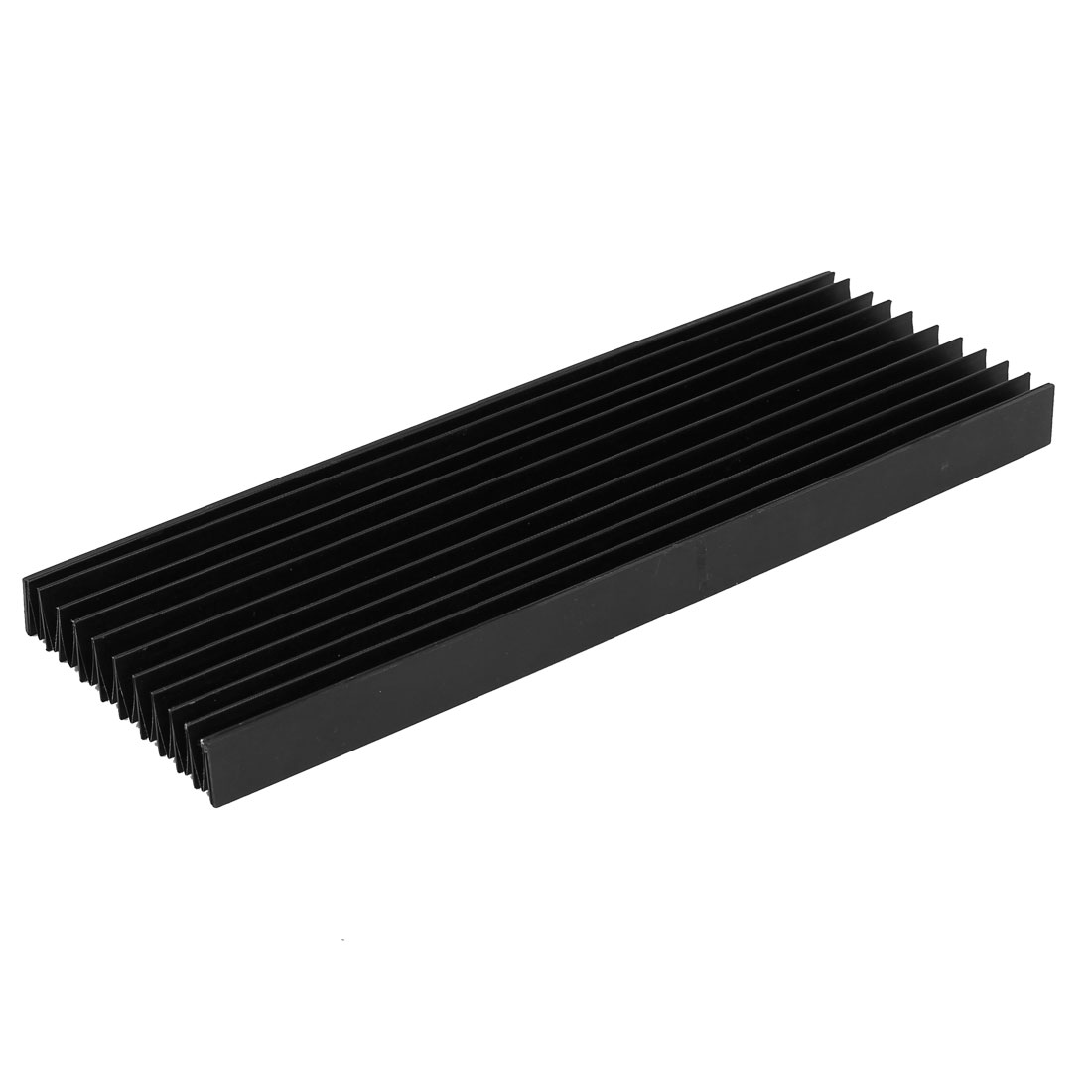 CNC Machine Fitting Foldable Accordion Dust Protective Cover Black 300mm x 20mm