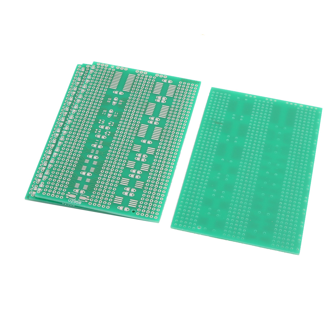 4 Pcs Single Sided Multi-package Patch PCB Print Circuit Board 7 x 11CM Green