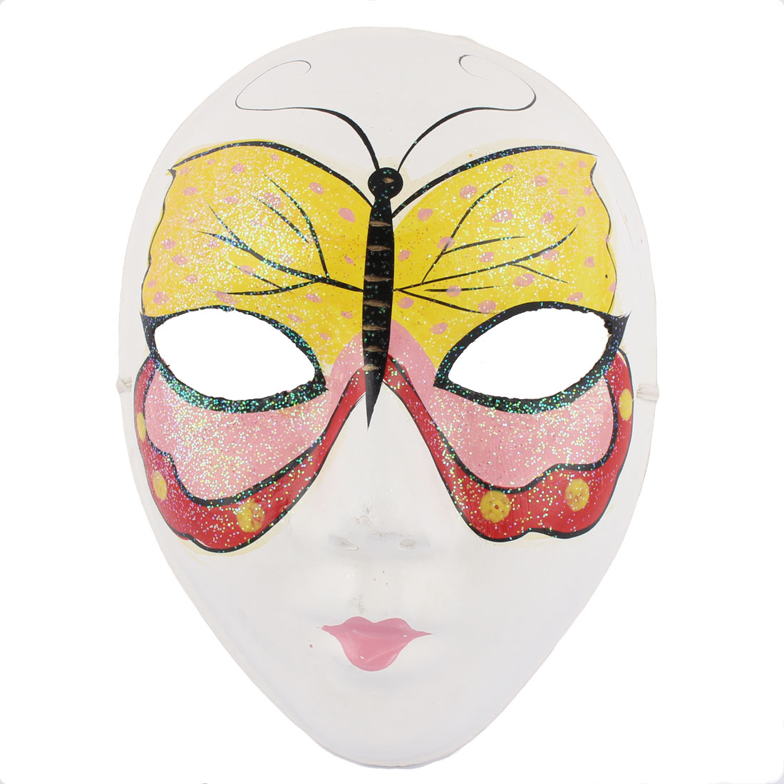 Woman Gypsum Hand Paint Beijing Peking Opera Facial Fashion Costume Makeup Mask