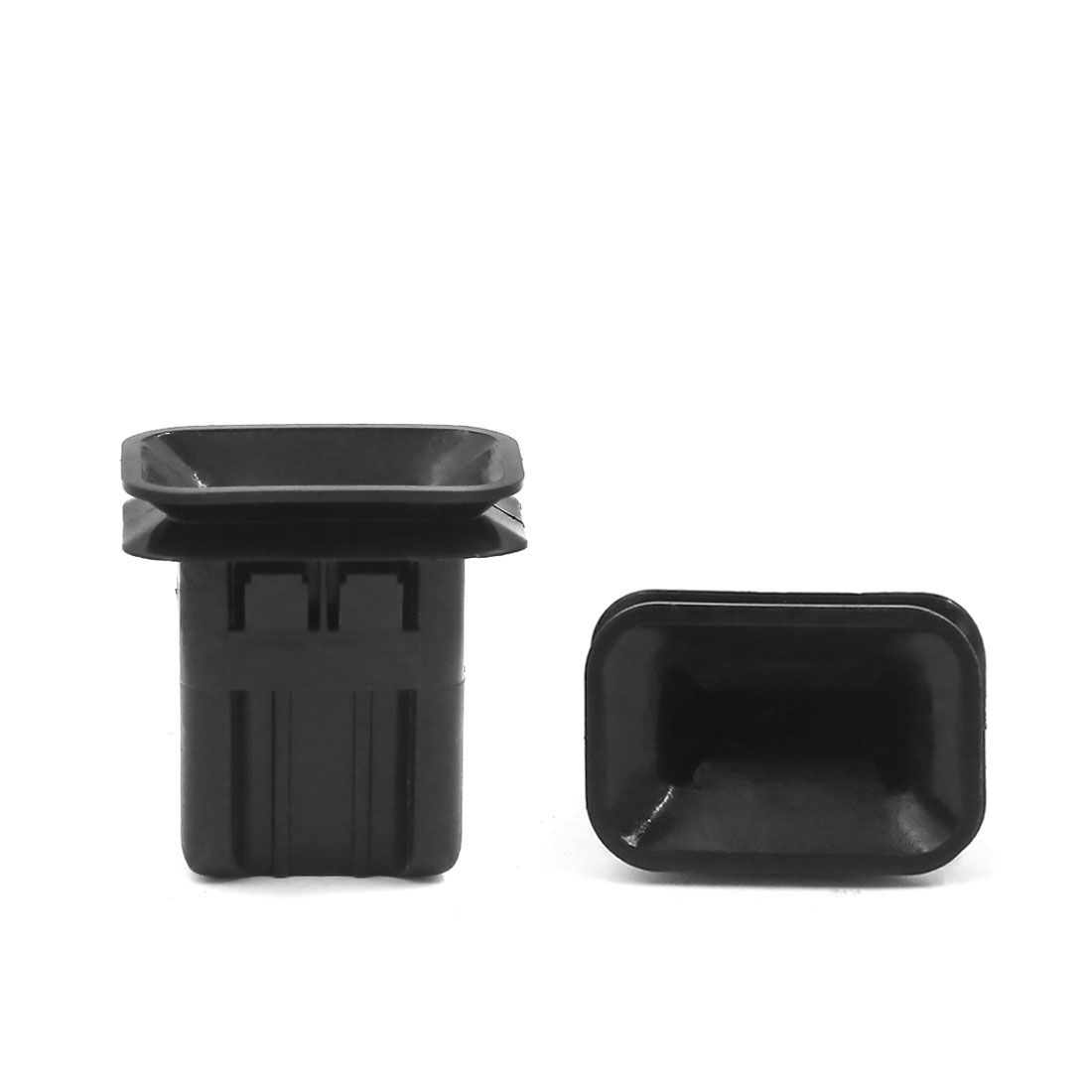 50Pcs 28x18mm Hole Size Black Plastic Retainer Seat Clip for Honda