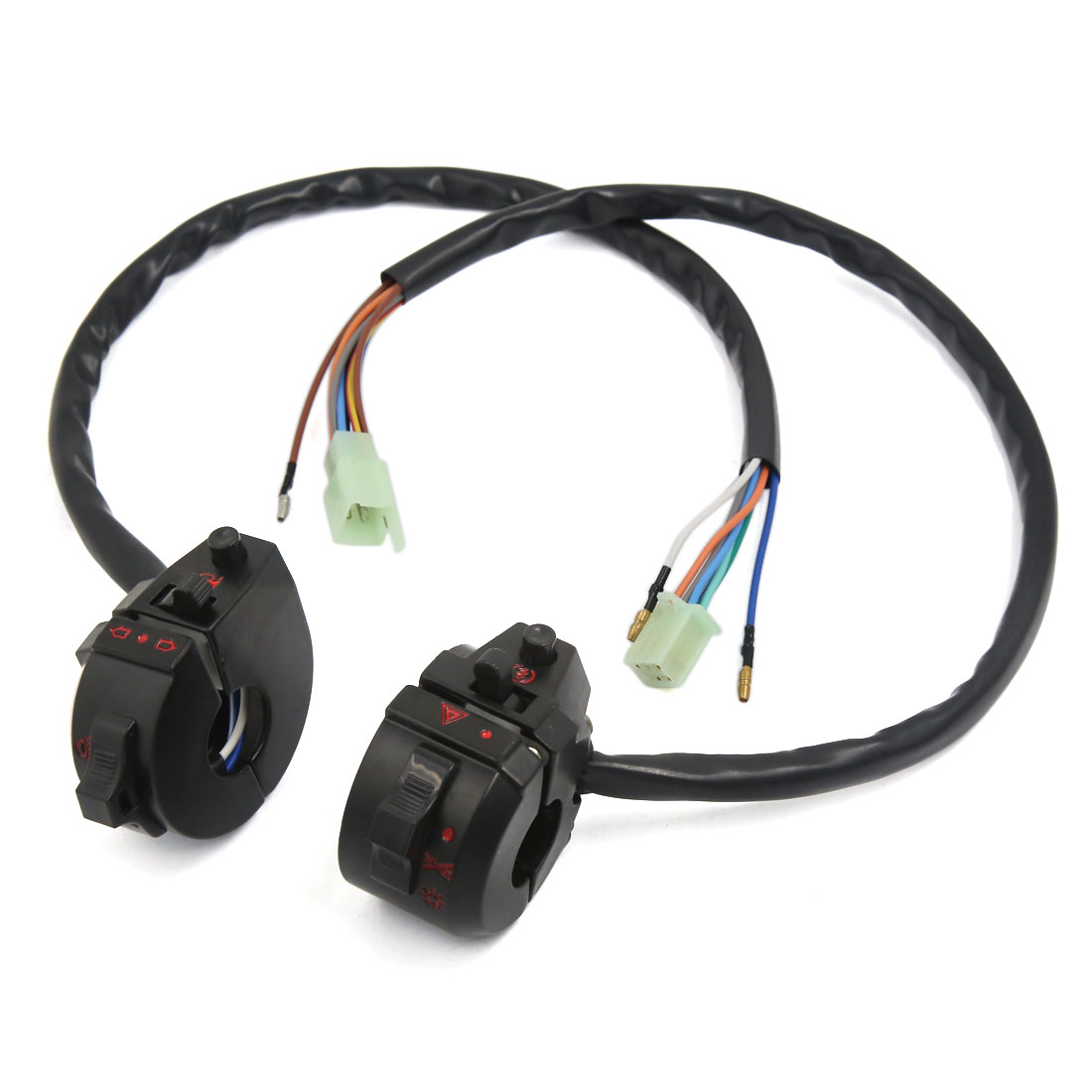 Left Right Handle Bar Headlight Electrical Switch Controller for ZJ