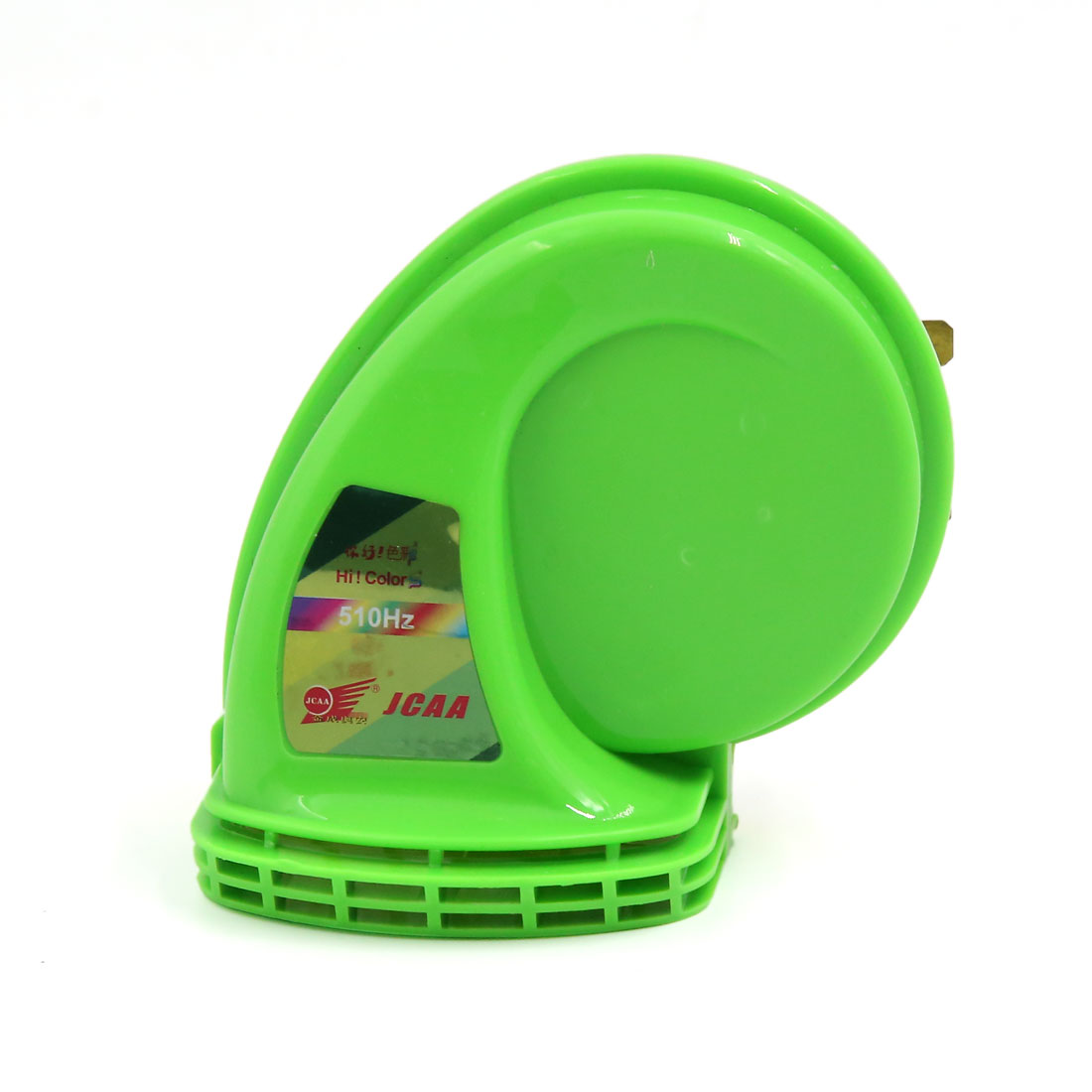 Green Metal Plastic Siren Snail Shaped Motorcycle Horn 12V DB115
