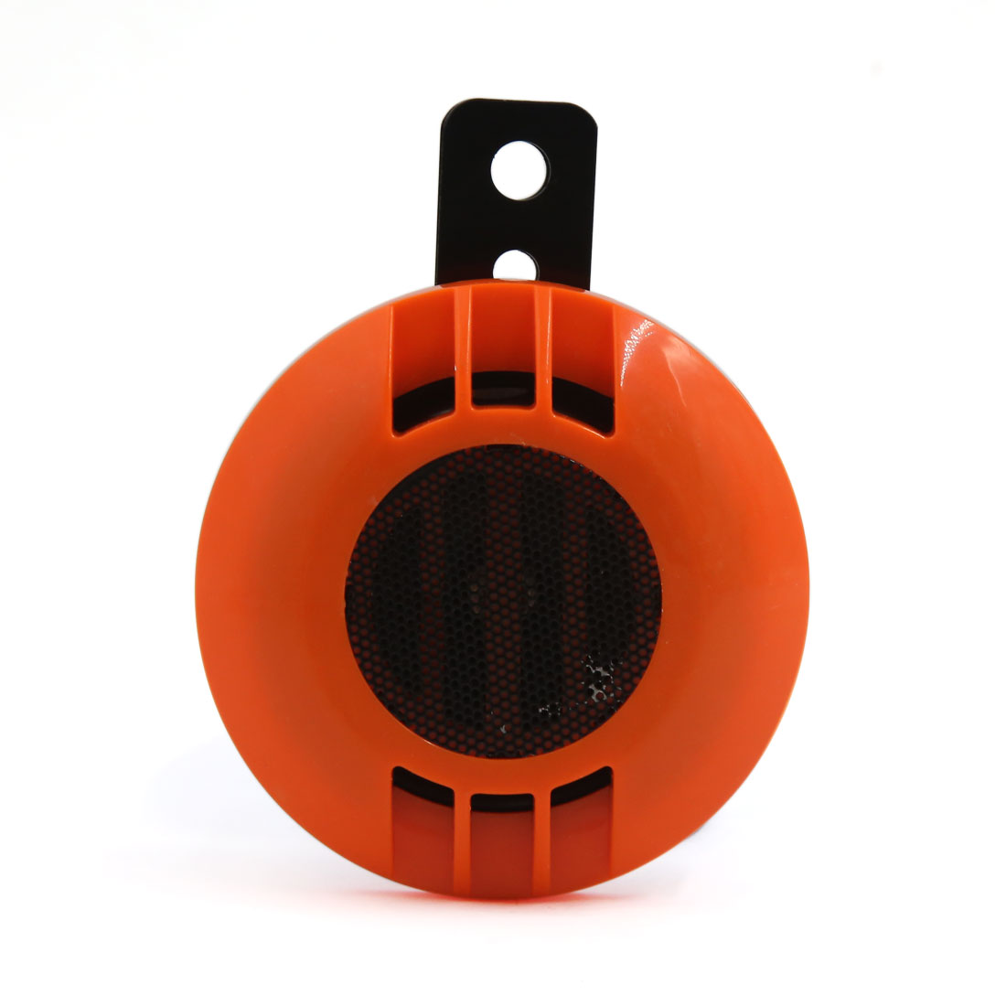 105DB Orange Waterproof Sandproof Electric Blast Tone Horn for Cars Motorbikes