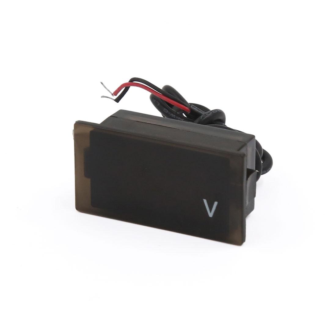 DC 12V Vehicle Motorbike LED Display Digital Voltage Voltmeter