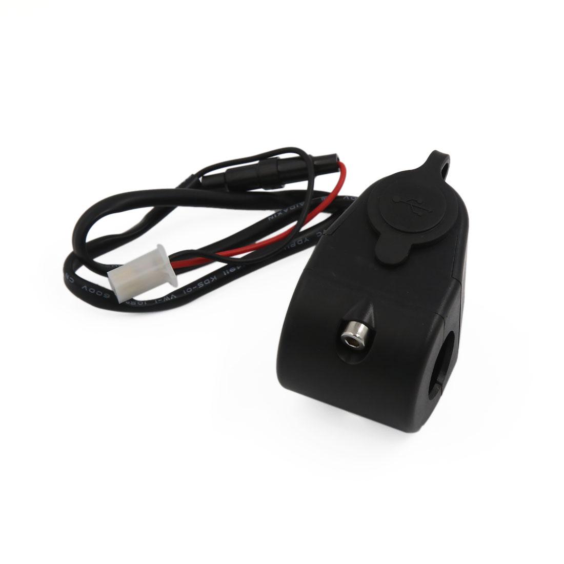 Black Car Cigarette Lighter Socket Adapter Splitter Charger Double USB