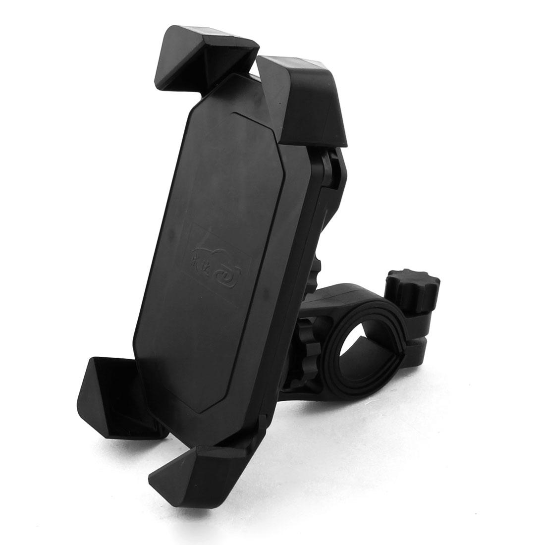 Bicycle Motorcycle Adjustable Handle Bar Plastic Smart Phone Holder