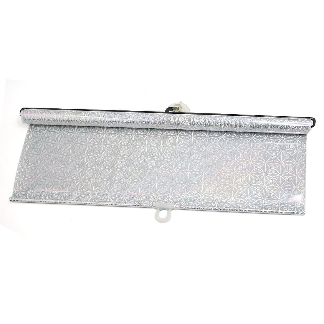 48 x 135cm Silver Tone Vinly Reflective Sunshade Sun Shield for Car