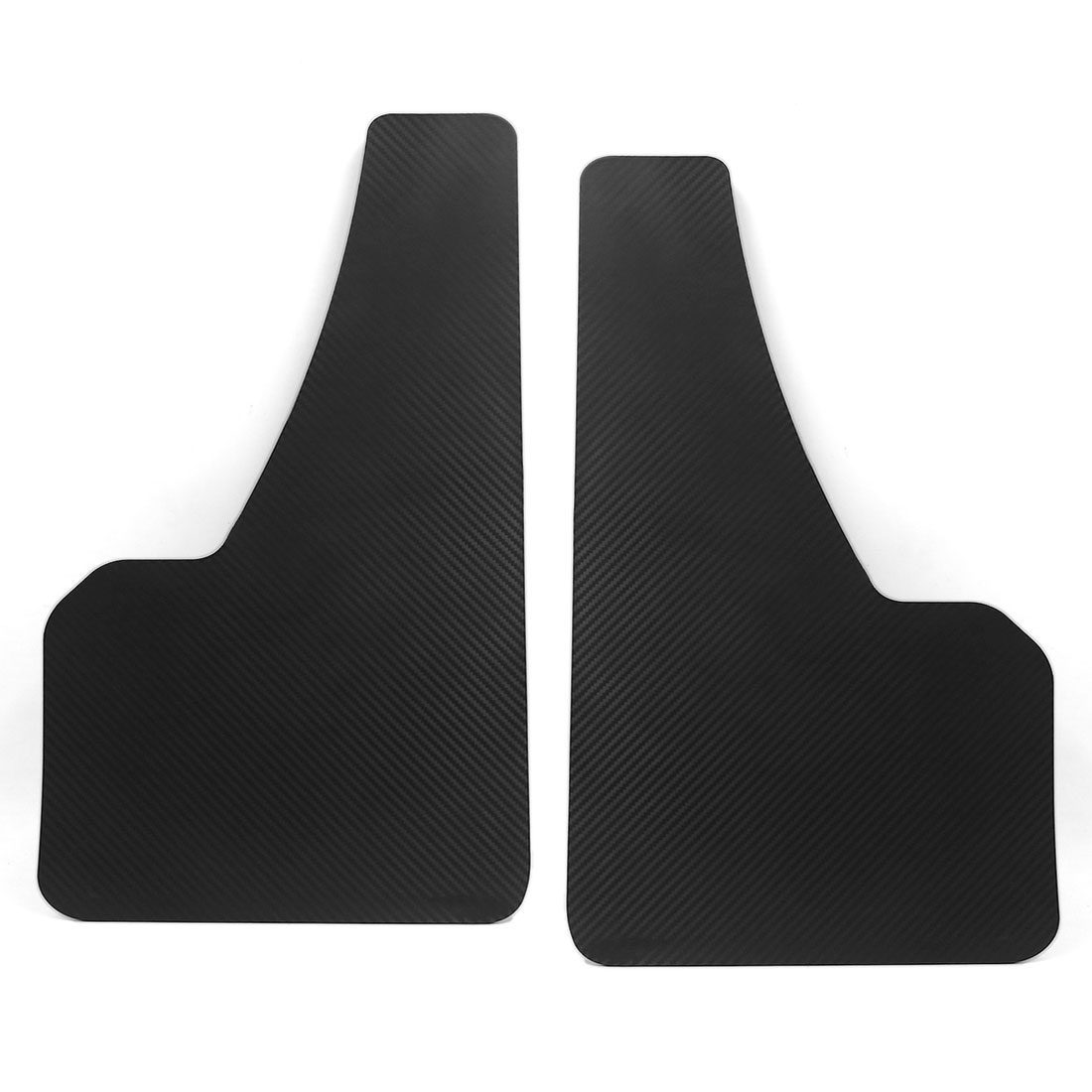 Pair Universal Front Rear Black Racing Mud Flap 49.5 x 30cm for Car