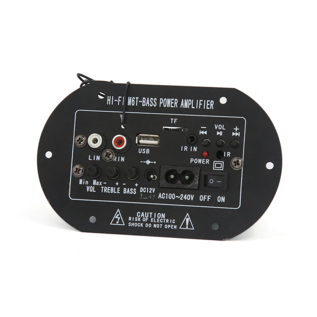 Car 12V/24V MP3 Decoder Audio Power Amplifier Board Fits for 6-8 Inch Speaker