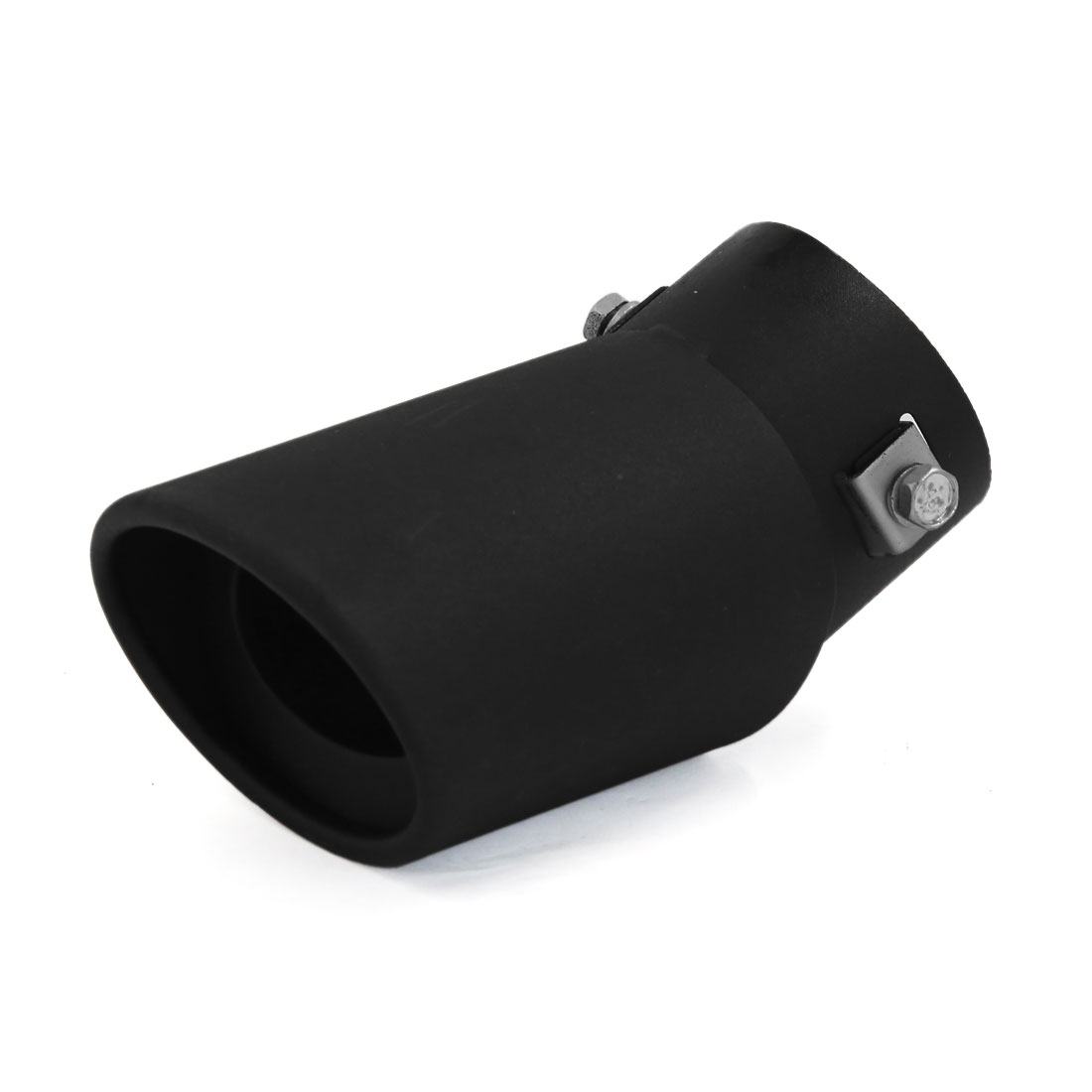Black Metal Exhaust Muffler Tip Pipe Modified Silencer for Auto Car
