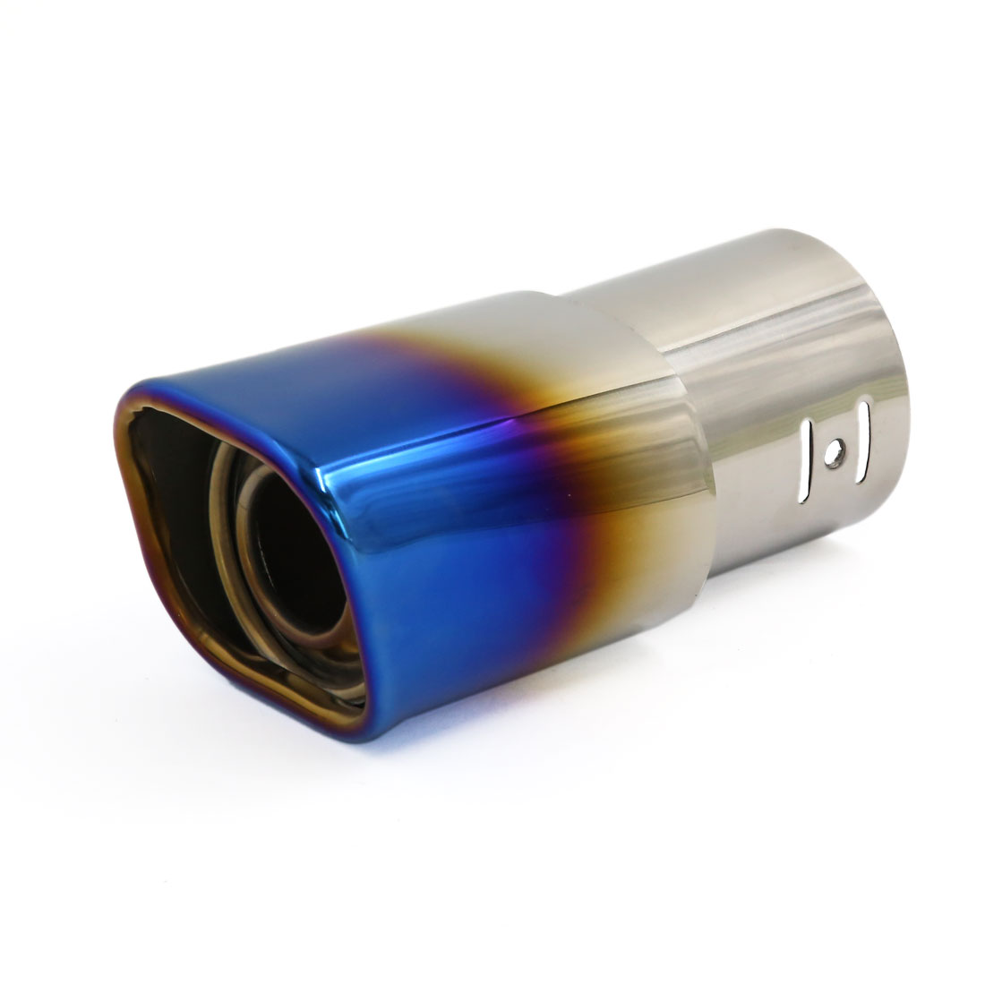 Titanium Blue Modified Silencer Exhaust Muffler Tip Tail for Vehicle Car