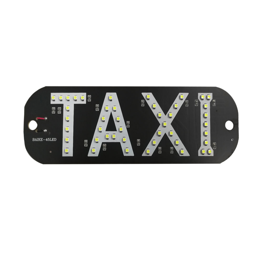 12V White Sign Windshield SMD LED Cab Taxi Light Lamp