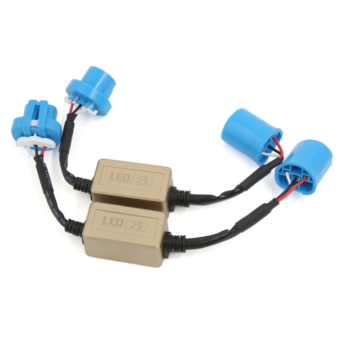 Pair 9007 Warning Canceller Canbus Error Free Load Resistor LED Decoder