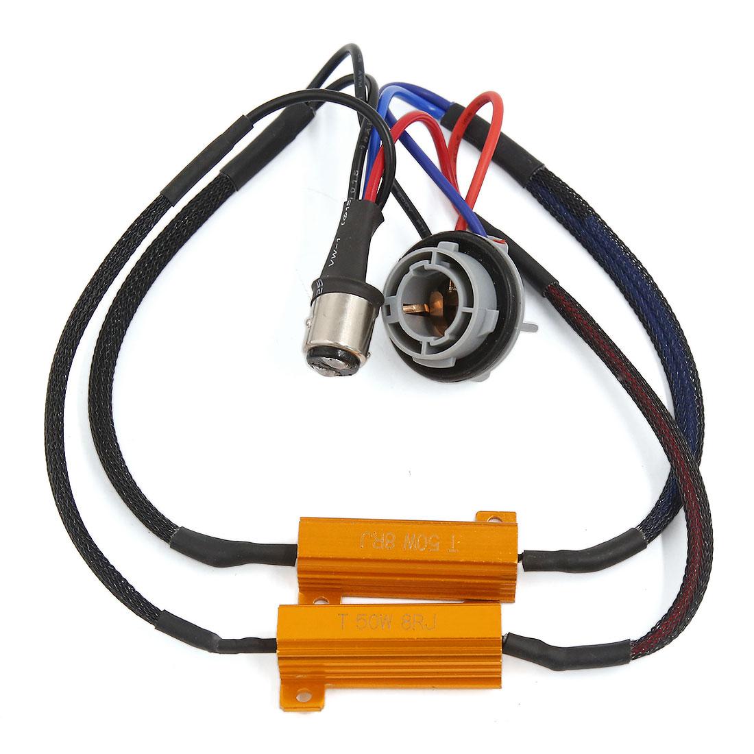 1157 Vehicle Car LED Resistor Anti Flicker Canceller Bulb Light Decoder