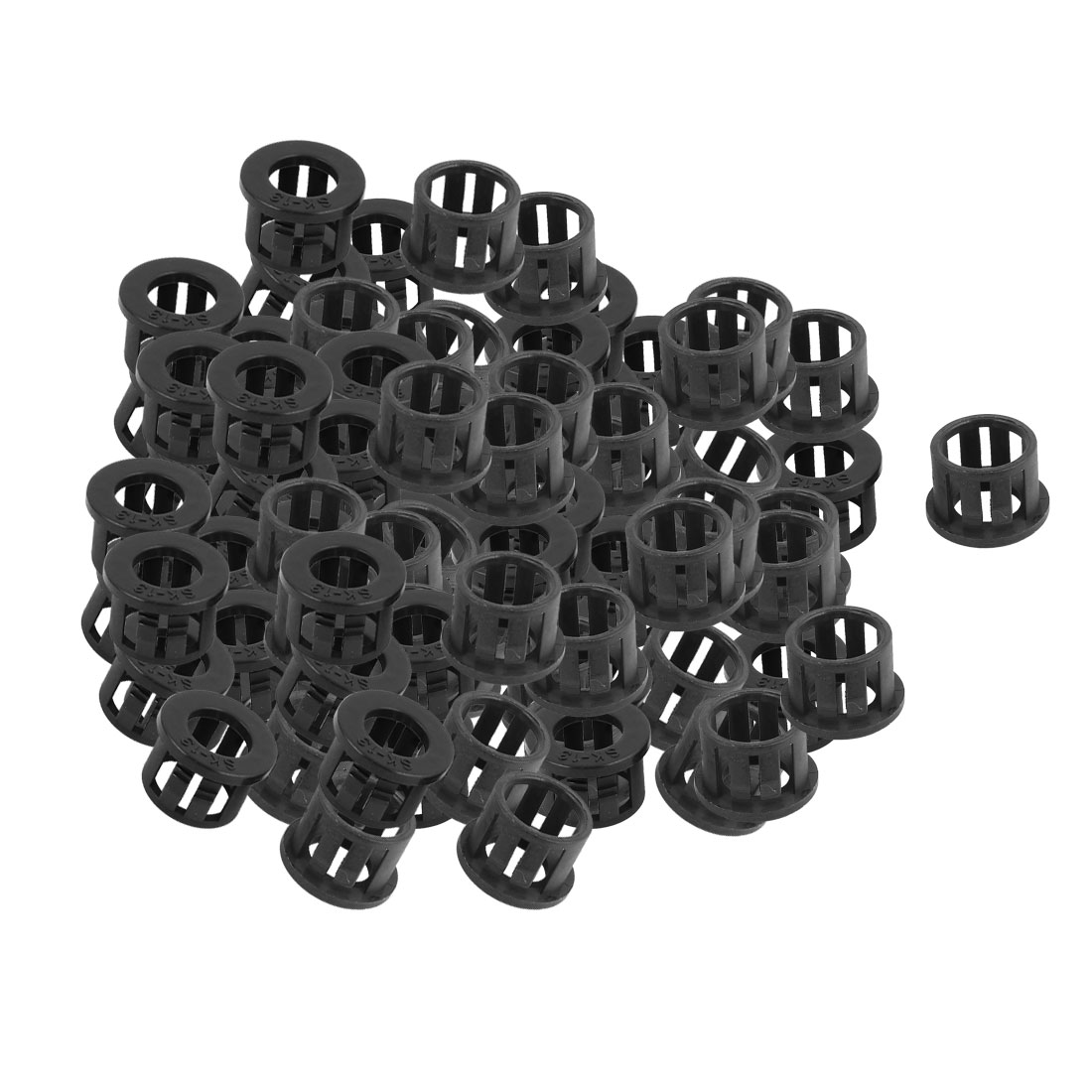100 Pcs SK-13 8mm Wire Hole Diameter Cable Harness Protector Bushing Snap In