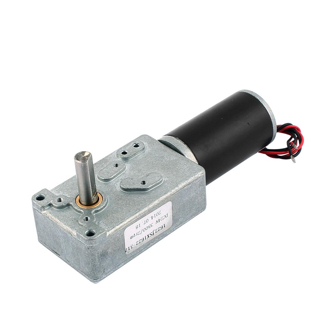 1622JSX1622-31ZY DC 24V 3500/2rpm Rectangle Reducer Gear Box Electric Motor
