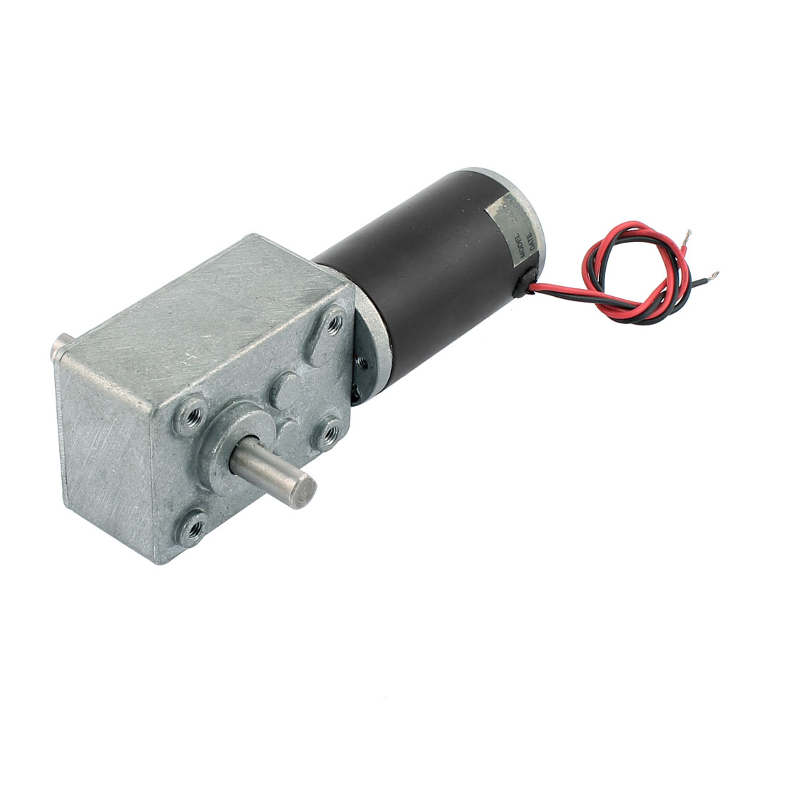 DC 24V 5500/110 RPM Electric Power Rotary Speed Reduce Worm Geared Box Motor