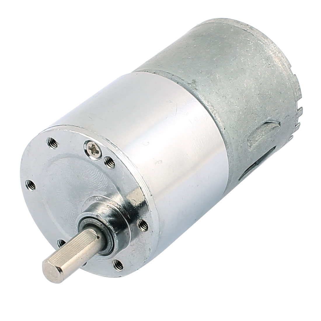 High Torque Low Speed Solder Cylindrical Reduction Gear Box Motor DC 24V 20RPM