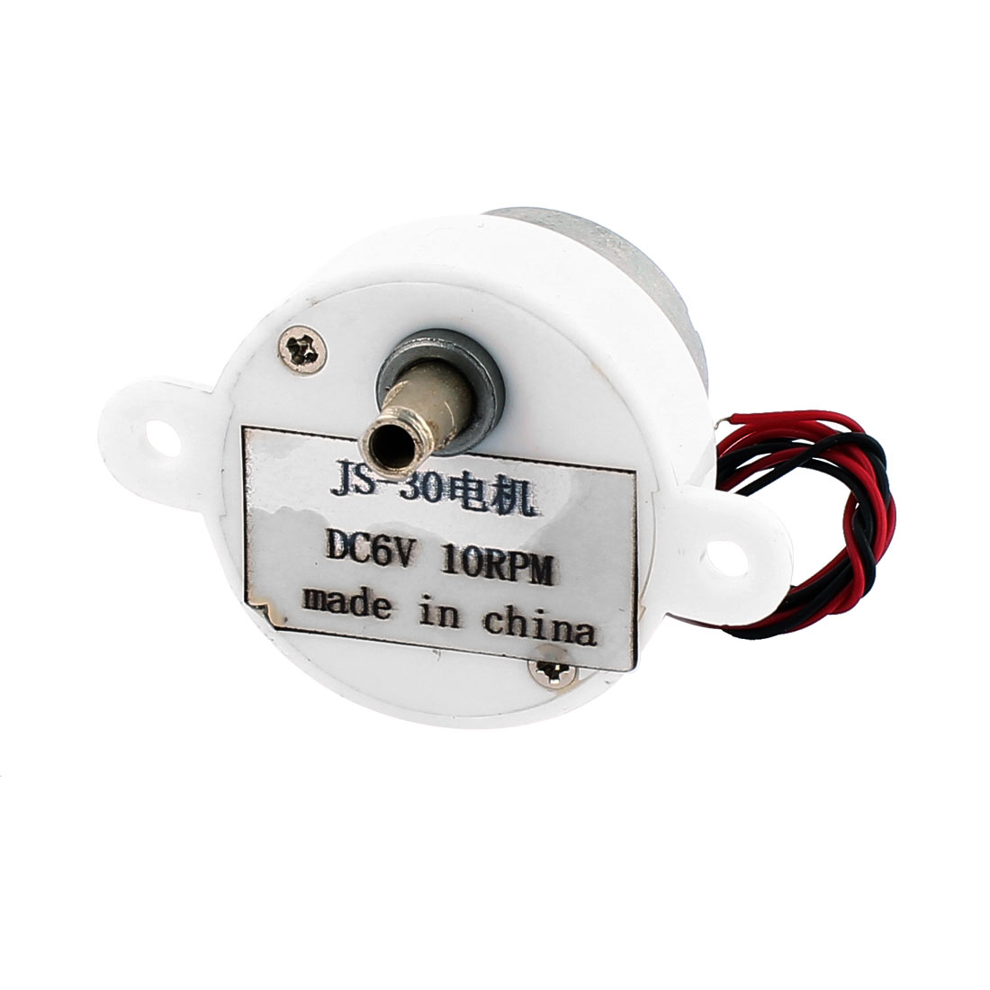 2 Wires Connecting Micro Motor JS-30 DC 6V 10RPM for Air Condition Water Heater