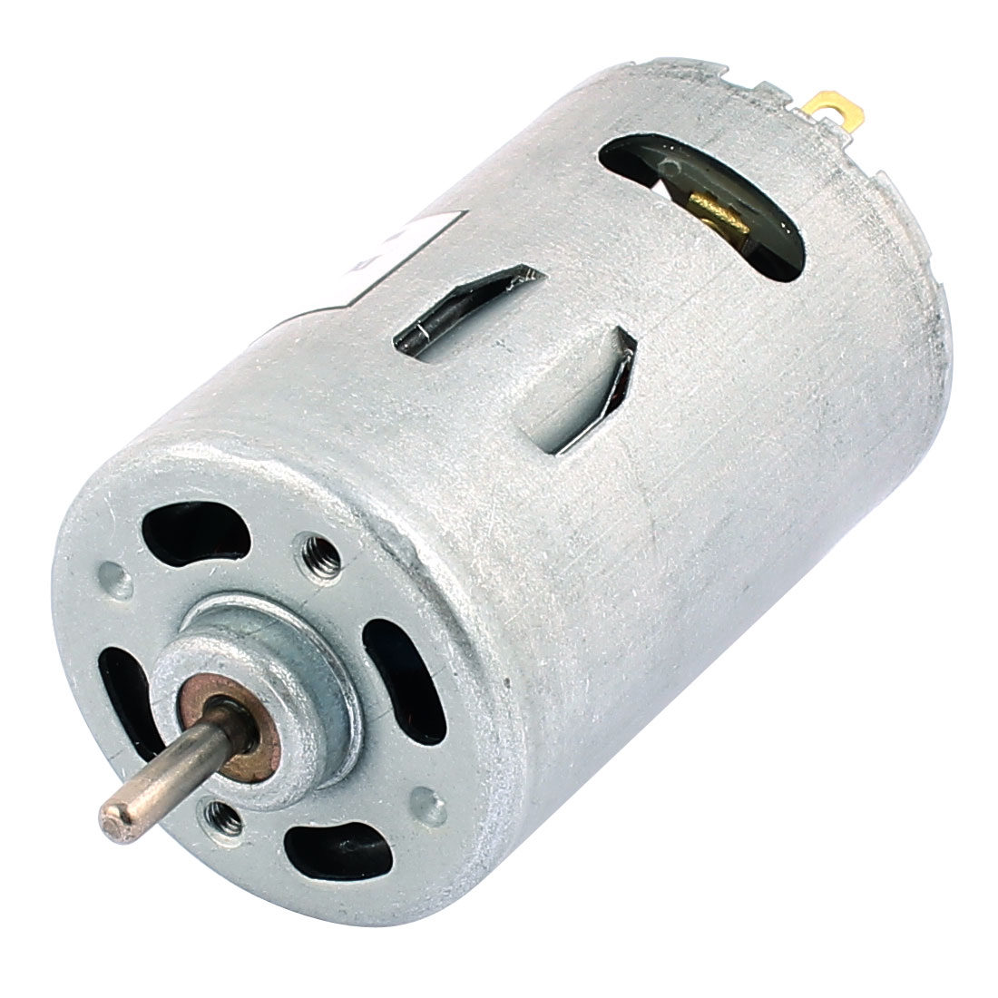 DC12V 6000R/Min Cylindrical Miniature Magnetic Direct Current Gear Motor R555
