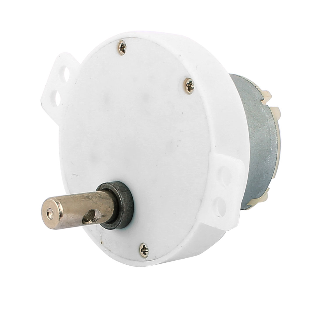 JS-50S DC24V 5RPM 7 x 15mm Eccentric Shaft 2 Terminals Connecting DC Geared Motor