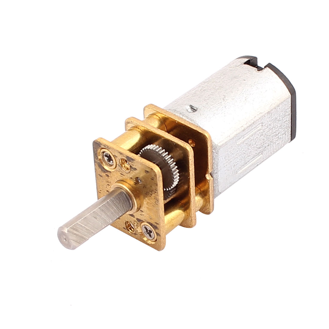 DC 3V 15RPM High Torque 3mm Shaft Dia Low Speed Gear Box Motor for Toy Model