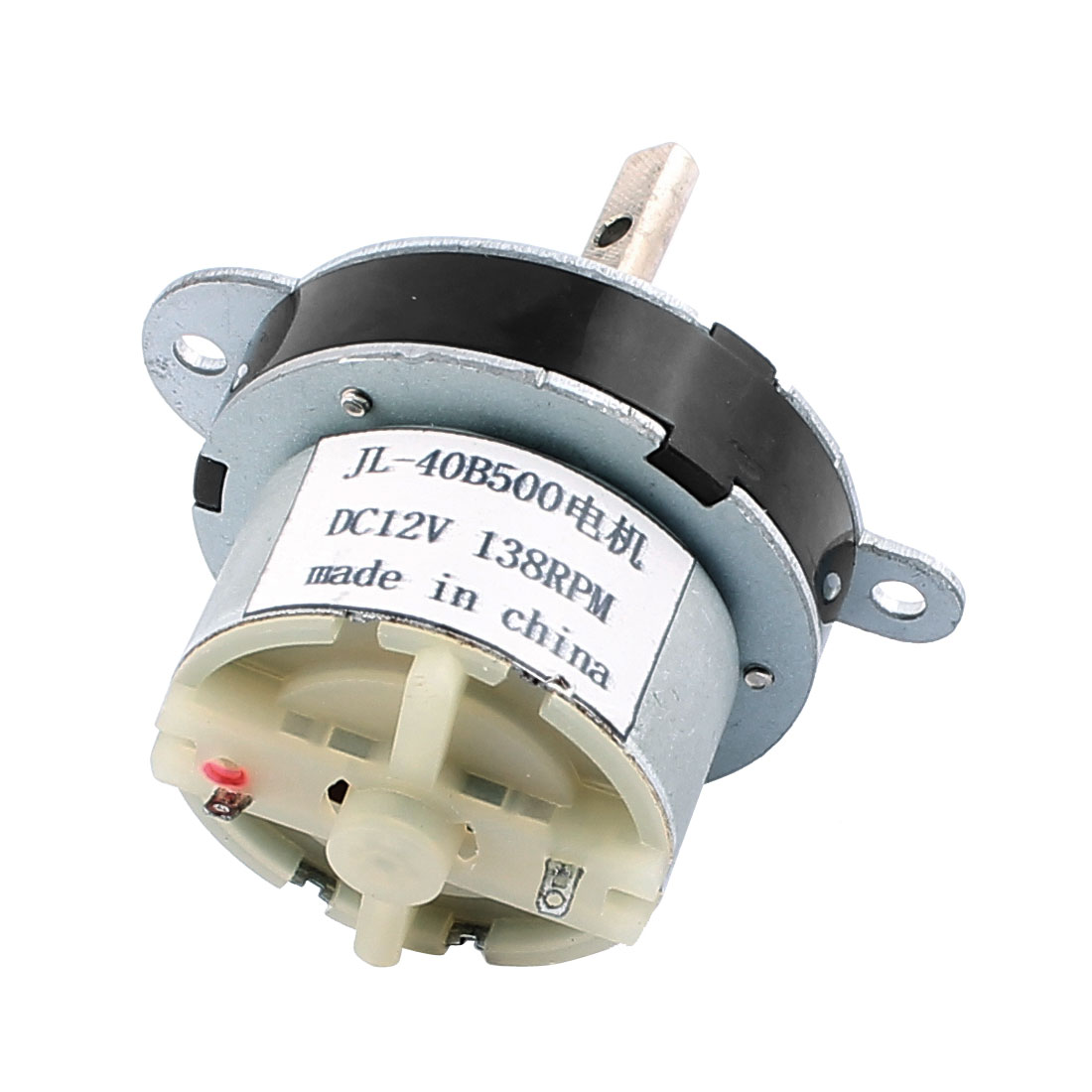 DC12V 138RPM High Torque Rotary Speed Reducing Cylinder Shaped DC Geared Motor