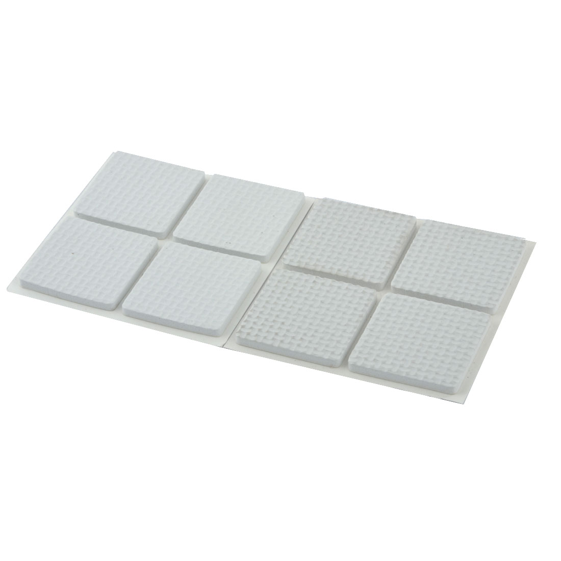 Floor EVA Square Anti Scratch Table Chair Furniture Feet Pads Cover Protector White 38 x 38mm 8pcs