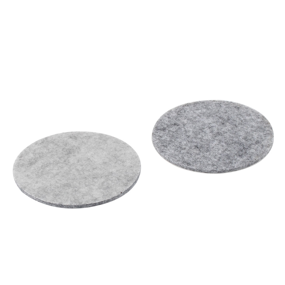 Table Chair Legs Protector Furniture Felt Pads Cushions Mats Gray 85mm Dia 2pcs