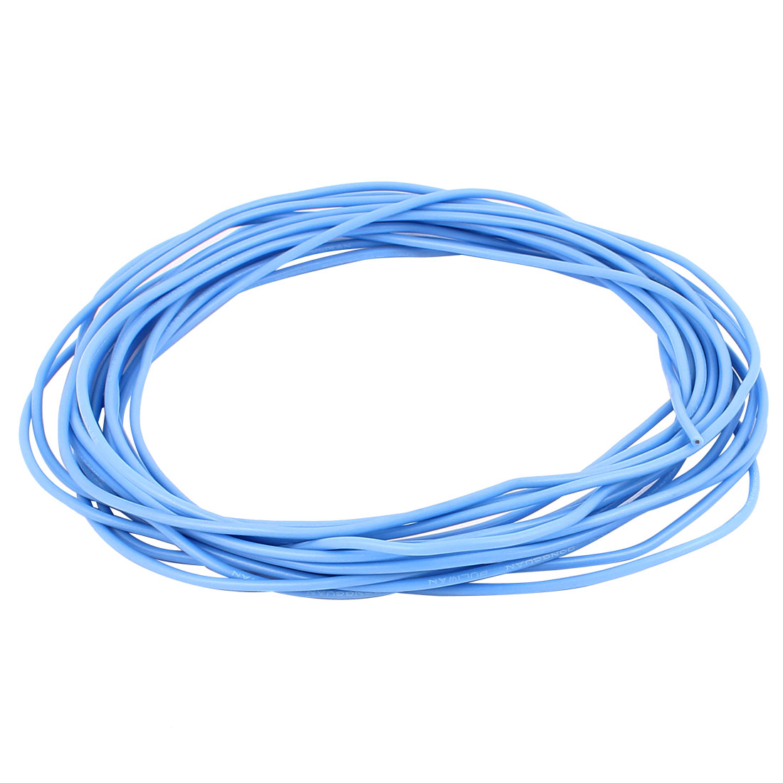 4.9M 16Ft 22AWG Electric Copper Core Flexible Silicone Wire Cable Blue