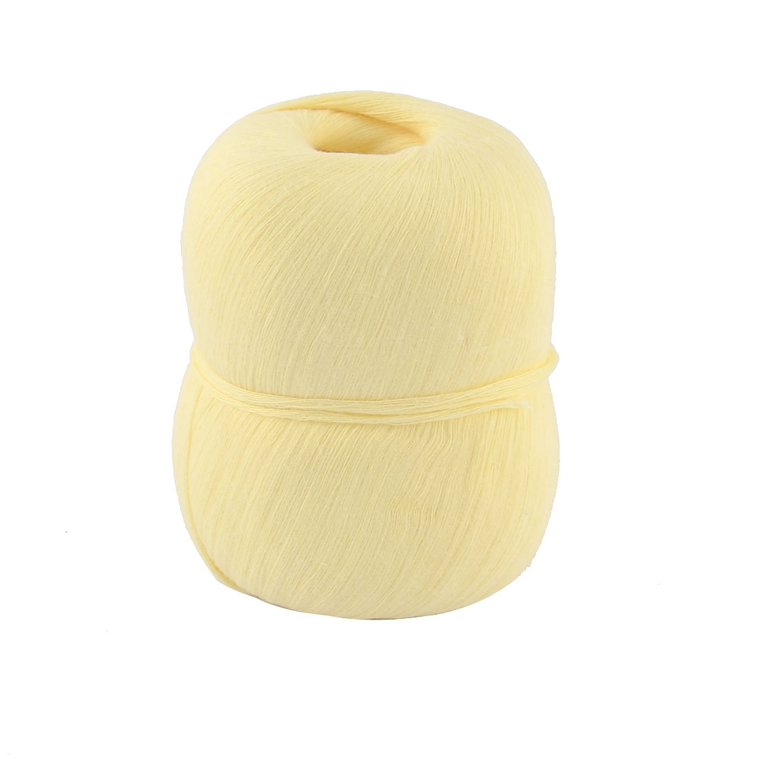 Hand DIY Knitting Clothes Cotton Crochet Thread Craft Yarn Light Yellow