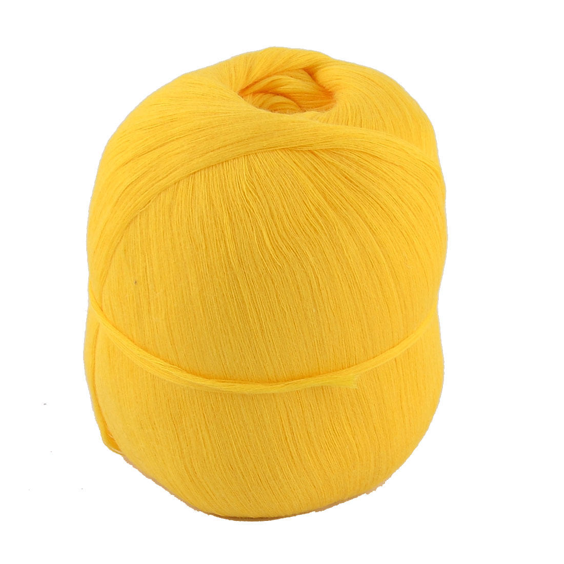 Tatting Hand Knitting Clothes Cotton Thread Embroidery Craft Yarn Dark Yellow