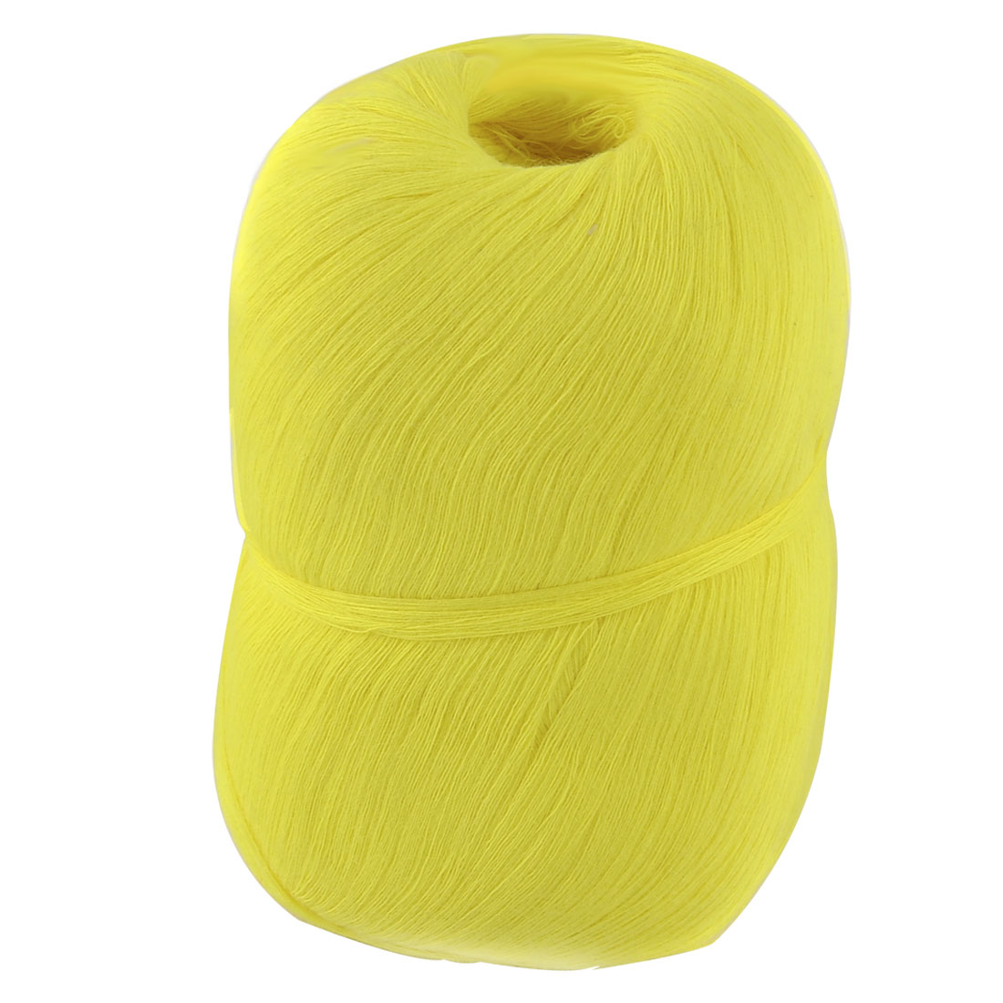 Hand DIY Clothes Tatting Knitting Cotton Thread Embroidery Craft Yarn Yellow
