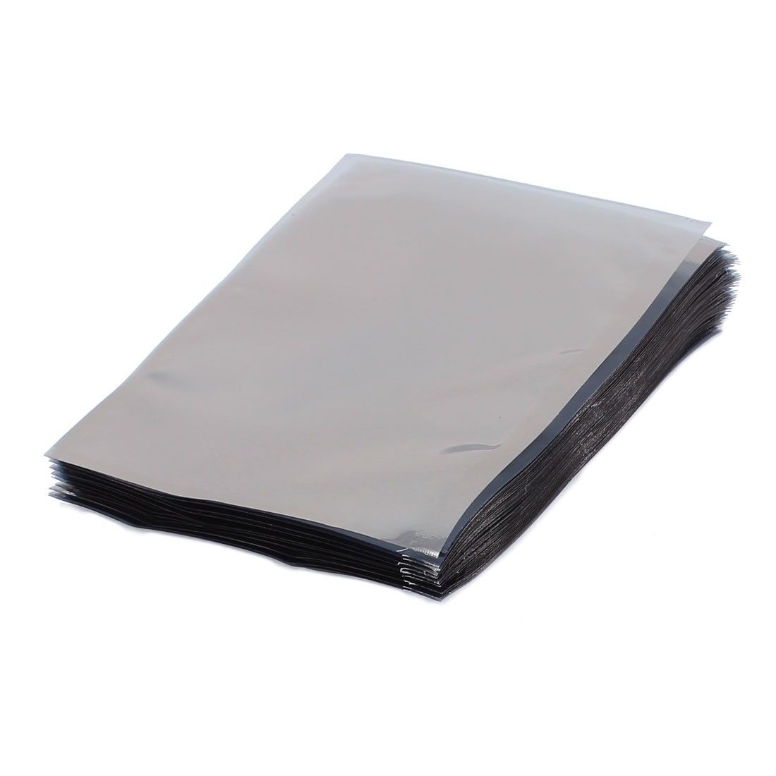 100 Pcs 100mm x 120mm Silver Tone Flat Open Top Anti Static Bag For Electronics